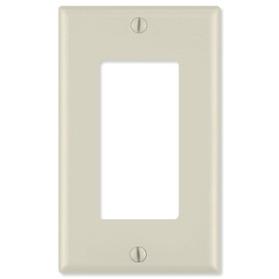 On-Q/Legrand Decorator Wallplate, 1-Gang