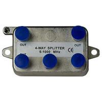 On-Q/Legrand 4-Way Vertical Coax Splitter, 1 GHz