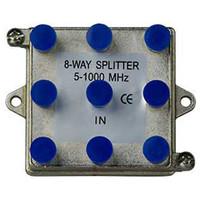 On-Q/Legrand 8-Way Vertical Coax Splitter, 1 GHz