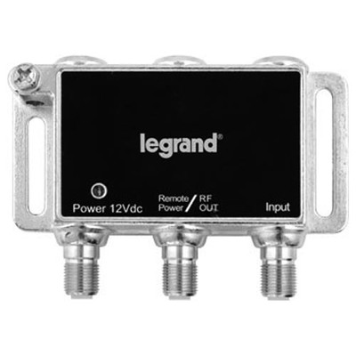 On-Q/Legrand 1-Port Digital Cable Amplifier with Coax Network Support