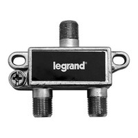On-Q/Legrand 2-Way Digital Cable Splitter with Coax Network Support