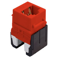 On-Q/Legrand Quick Connect Cat6a RJ45 Keystone Snap-In Connector