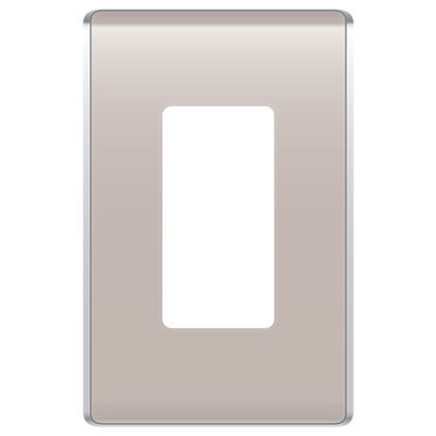 On-Q/Legrand Studio Design Wallplate, 1-Gang