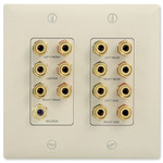 On-Q/Legrand 7.1 Surround Sound Home Theater Wallplate