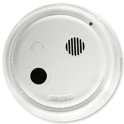 Sensaphone Smoke Detector, Battery Back-Up, 220 VAC