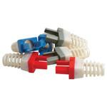 Platinum Tools EZ-RJ45 Cat6 Strain Relief, Colored (50 Pack)