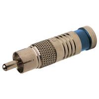 Platinum Tools SealSmart RCA Compression Connector, RG6 Quad