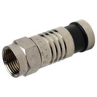Platinum Tools SealSmart F Compression Connector, RG6 (75 Pack)