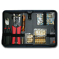 Platinum Tools Coaxial Termination Kit with Nylon Zip Case