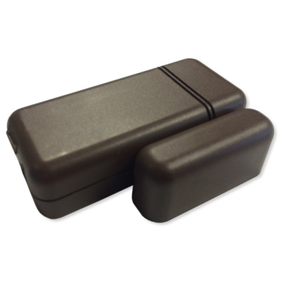 Qolsys IQ S-Line Encrypted Mini Door/Window Sensor, Brown