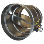 RCS 2-Wire RD Series Motorized HVAC Zone Damper, 12 In., NC