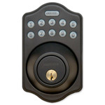 RemoteLock 5i-A Wi-Fi Electronic Deadbolt Door Lock, Polished Brass (Open Box)