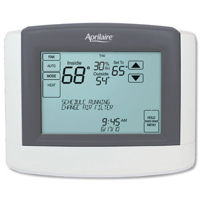 Aprilaire Universal Communicating Touchscreen Thermostat