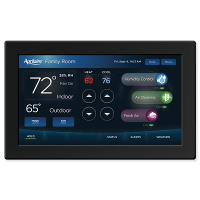 Aprilaire 7-Inch Color Touchscreen Wi-Fi Automation IAQ Thermostat