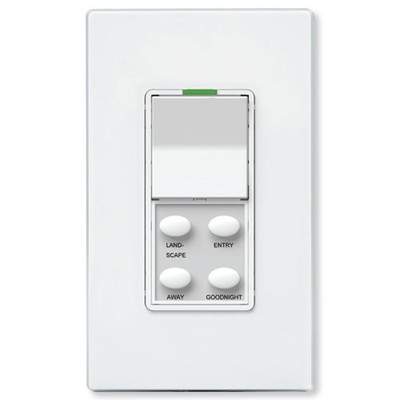 Simply Automated SimplySmart UPB Dimmer with 4-Button Scene Control
