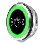 Seco-Larm Enforcer Touchless Infrared Proximity Sensor, Stainless Steel