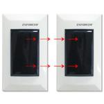 Seco-Larm Enforcer Dual Photobeam Sensor, Flush-Mount