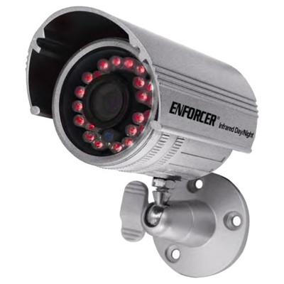 Seco-Larm Enforcer IR Bullet Camera, 600TV, 3.6mm, 24 LEDs