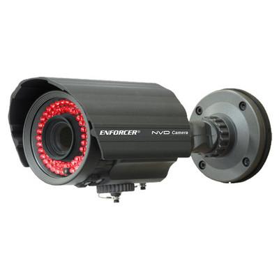 Seco-Larm Enforcer Bullet Camera, 3X Series, 600TV, 2.8~12mm, 56 LEDs