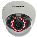 Seco-Larm Enforcer Dome Camera, Mid-Sized, 540TV, 3.6mm, 18 LEDs