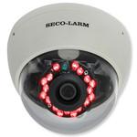 Seco-Larm Enforcer Dome Camera, Mid-Sized, 540TV, 3.6mm, 18 LEDs