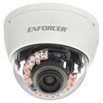 Seco-Larm Enforcer Mid-Size Vandal IR Dome Camera, 540TV, 4~9mm, 21 LEDs