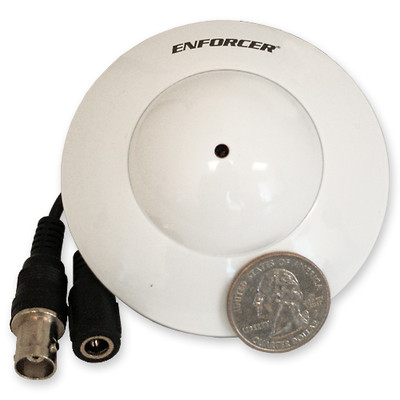 Seco-Larm Enforcer Ball Camera, UFO Flush-Mount, 700 TV Lines