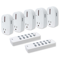 Seco-Larm Enforcer CBA Wireless Outlet Controller, 5-Channel