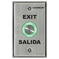 Seco-Larm Enforcer Piezoelectric Request-to-Exit Plate
