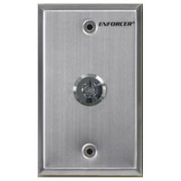 Seco-Larm Enforcer Request-to-Exit Key Switch Plate, Shunt Switch