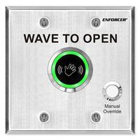 Seco-Larm Enforcer Outdoor Wave-To-Open Sensor with Manual Override