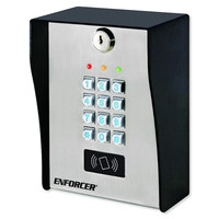 Seco-Larm Enforcer Outdoor Access Control Keypad with Proximity Reader