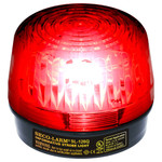 Seco-Larm Enforcer Xenon Strobe Light, 24VDC, Red Lens