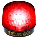 Seco-Larm Enforcer Xenon Strobe Light, 12VDC, Red Lens
