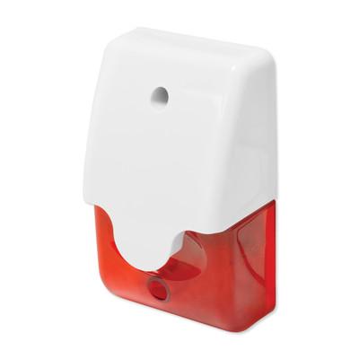 Mini Strobe Siren, Red Lens