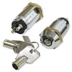 Seco-Larm Enforcer SPST Tubular Key Lock, Shunt On/Off