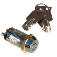 Seco-Larm Enforcer SPST Tubular Key Lock, Key #1300