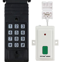 Skylink Smart Button Garage Door Opener & G6K Keypad Entry Kit