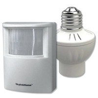 SkylinkHome Motion Activated Light Starter Kit, Screw In