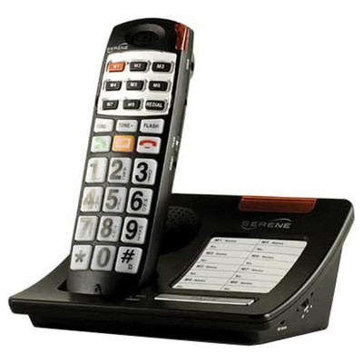 Serene DECT 6 Big Button Talking Telephone