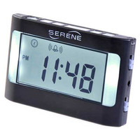 Serene Vibrating Travel Alarm Clock