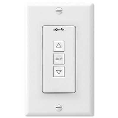 Somfy Dry Contact Switch, White (Open Box)