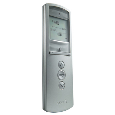 Somfy Telis 1 Chronis RTS Silver Remote, 1-Channel