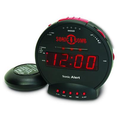 Sonic Alert Bomb Alarm Clock