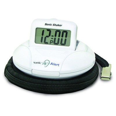 Sonic Alert Shaker Vibrating Travel Alarm Clock