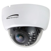 Speco 2MP HD-TVI IR Dome Camera, 2.8-12mm Varifocal Lens, White