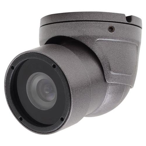 Speco Intensifier H Weather/Vandal Resistant Miniature Turret Camera, 3.6mm, Gray