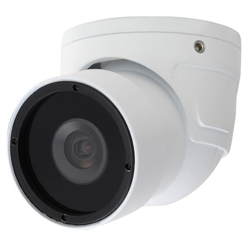 Speco Intensifier H Weather/Vandal Resistant Miniature Turret Camera, 3.6mm, White