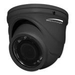 Speco 4MP HD-TVI Mini IR Turret Camera, Dark Gray