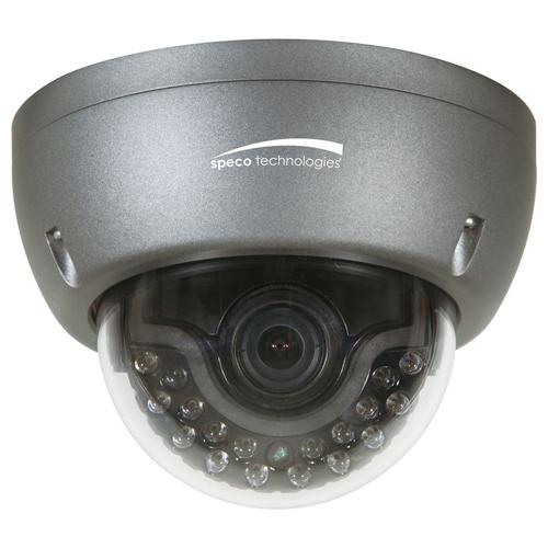 Speco Indoor/Outdoor IR Dome Camera with True WDR, 1000TV, 2.8-12mm